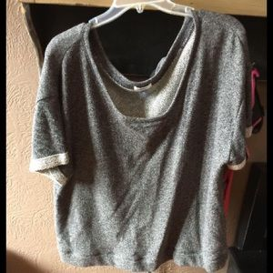 New Old Navy Short Sleeve Sweatshirt